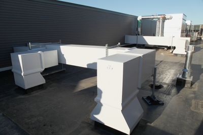 preinsulated rooftop double wall ductwork