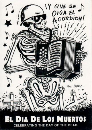 El Dia De Los Muertos - Notecard