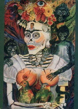 La Frida-Con Safos - Notecard