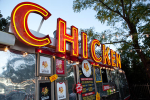 Best food trailer food truck to visit Austin Southern comfort food  best fried chicken film catering austin movie production catering Best catering Austin, Texas