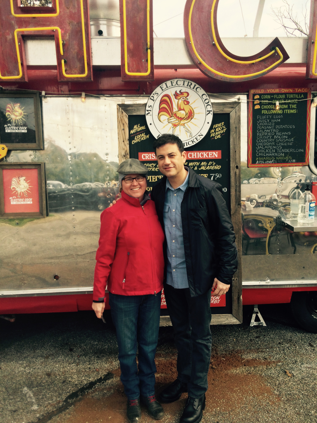 Jimmy Kimmel Live loves Ms Ps Fried Chicken SXSW Food trailer food truck restaurant startup CNBC.jpg