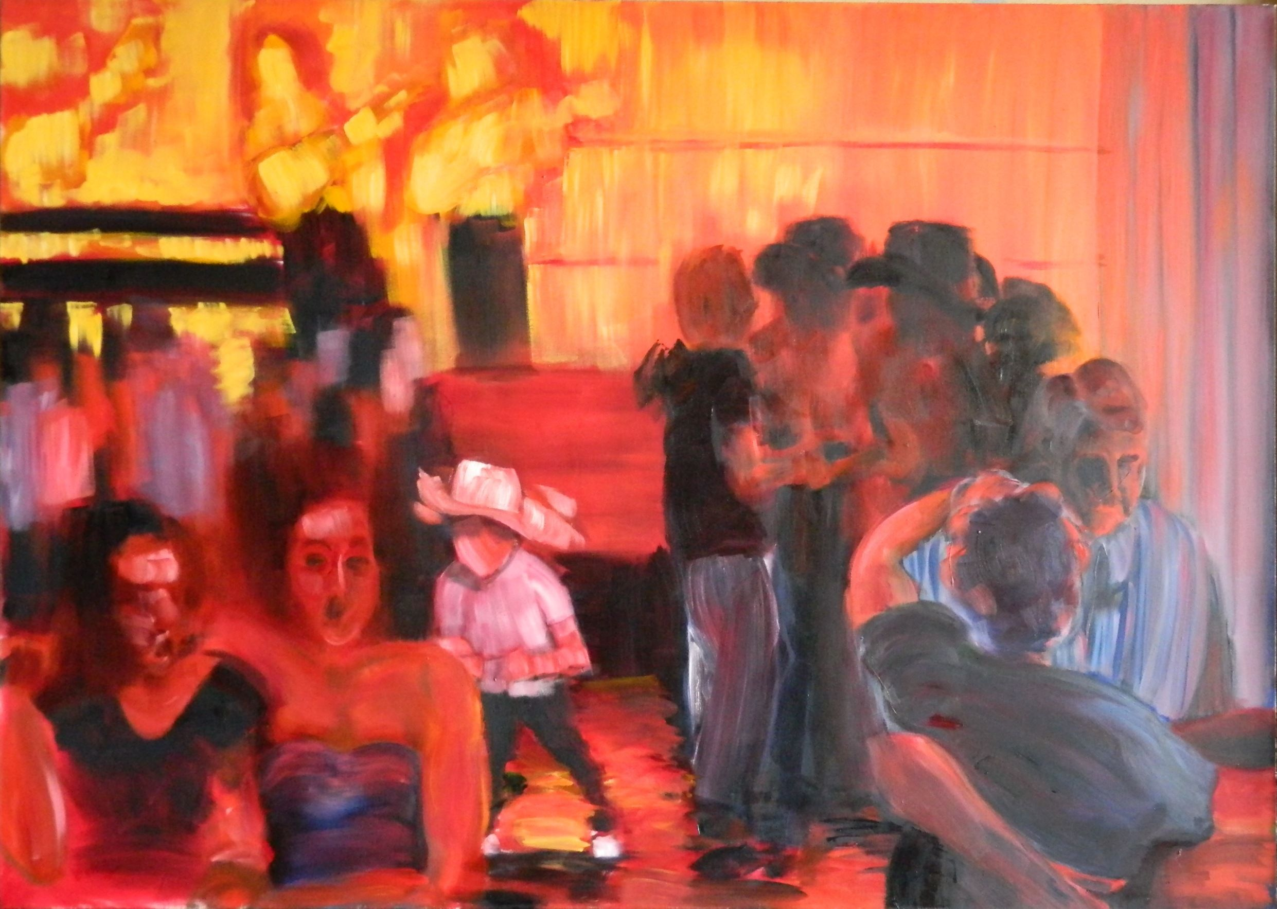Club 21 No. 1, 60 x 84 in., oil on canvas, $10,000.JPG