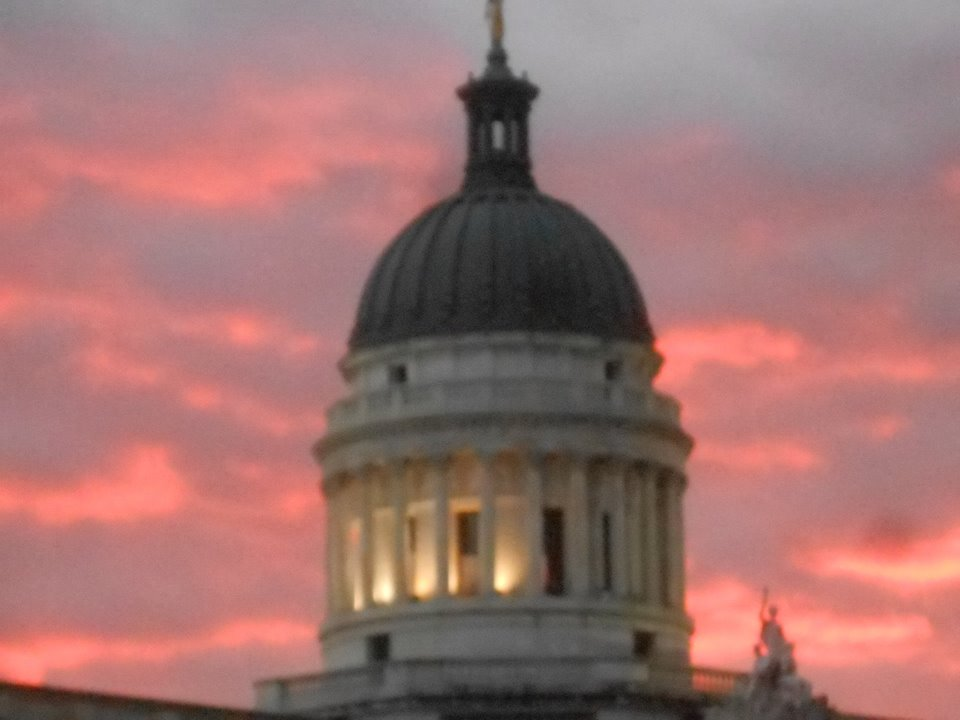 court house dome at sunset 2015 cool sky.jpg