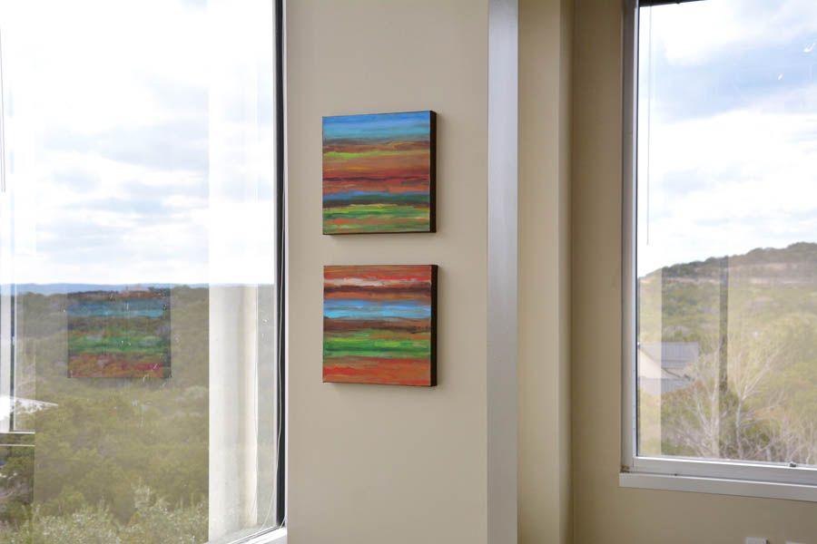 Mini Abstract #8 and 9 wall.jpg