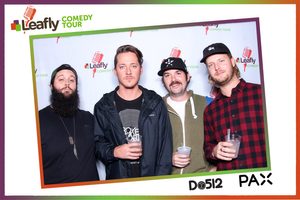 Leafly Comedy Tour Interactive Photo Booth
