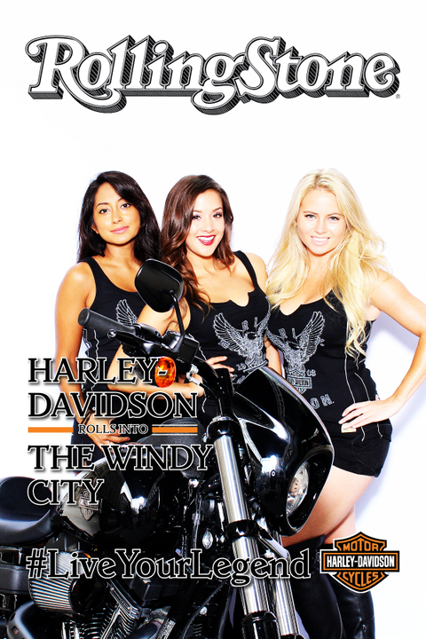 Harley Davidson and Rolling Stone Live Chicago