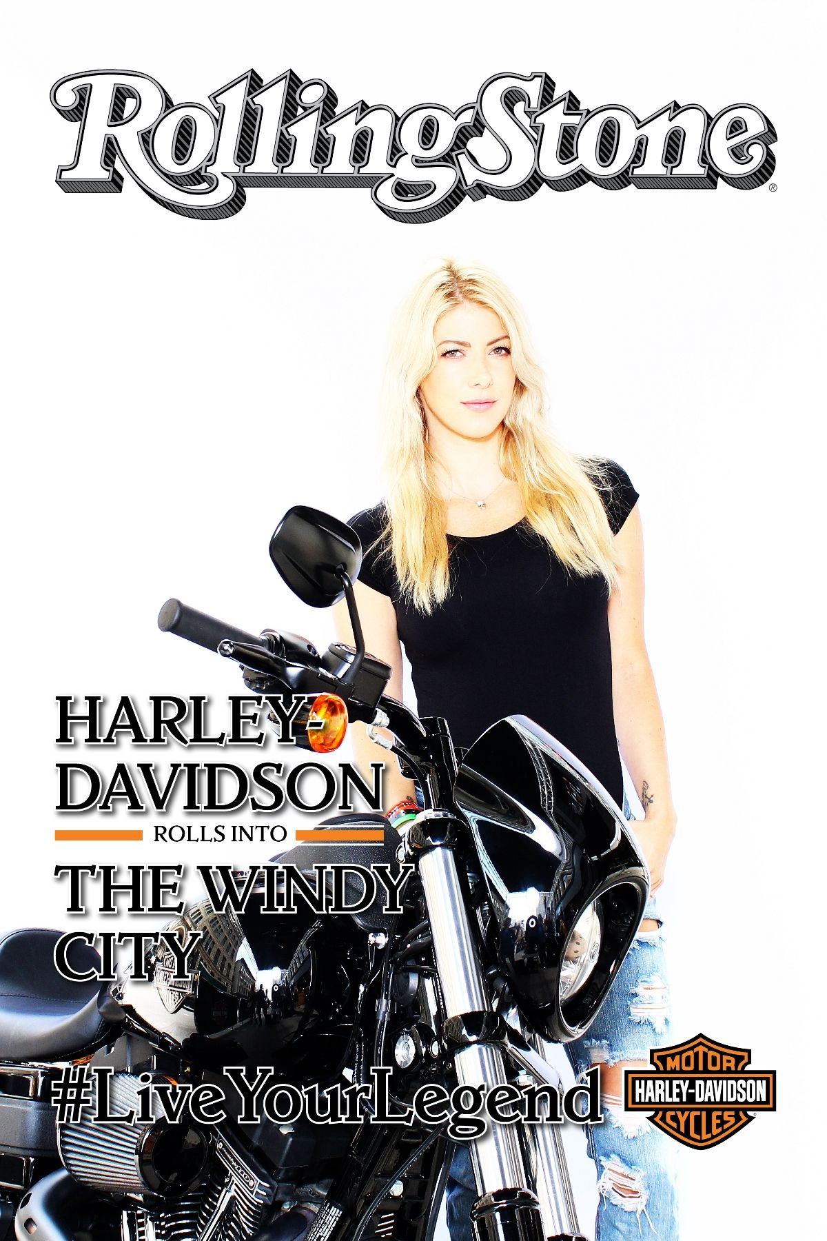 Harley Davidson Interactive Photo Booth