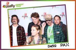 Leafly Comedy Tour Photo Booth