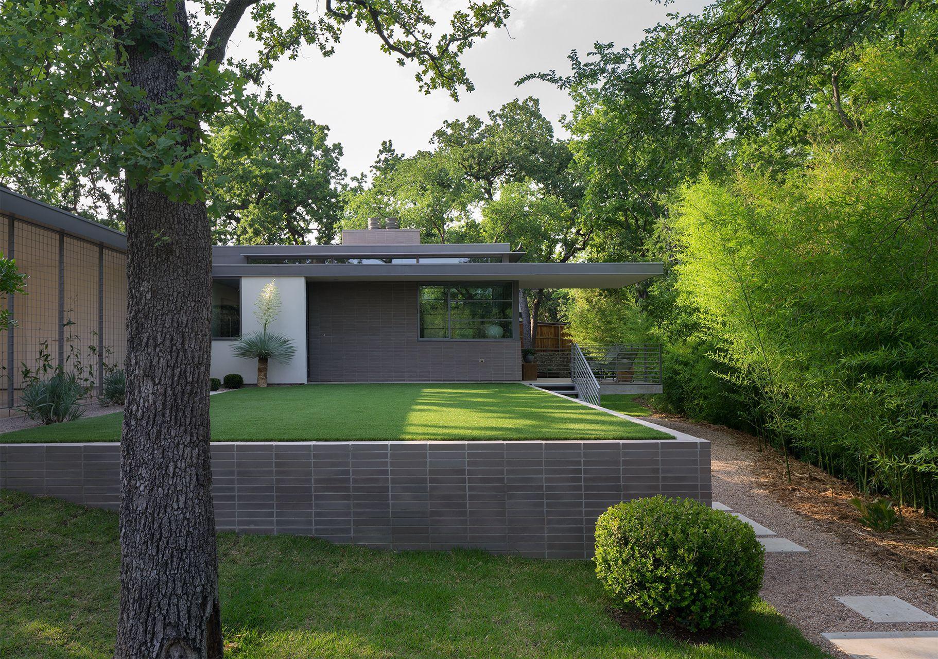 Austin Texas Mid Century Modern Home Architecture