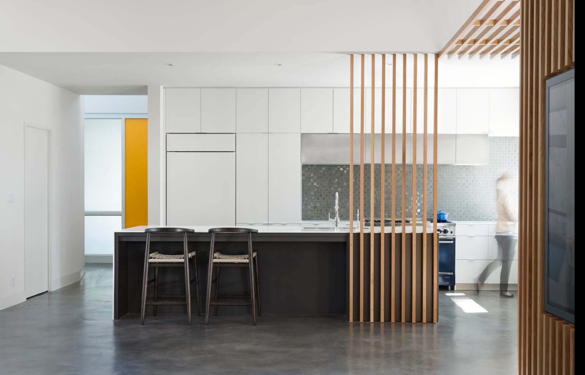 Contemporary Kitchen Interior Design Austin, Texas
