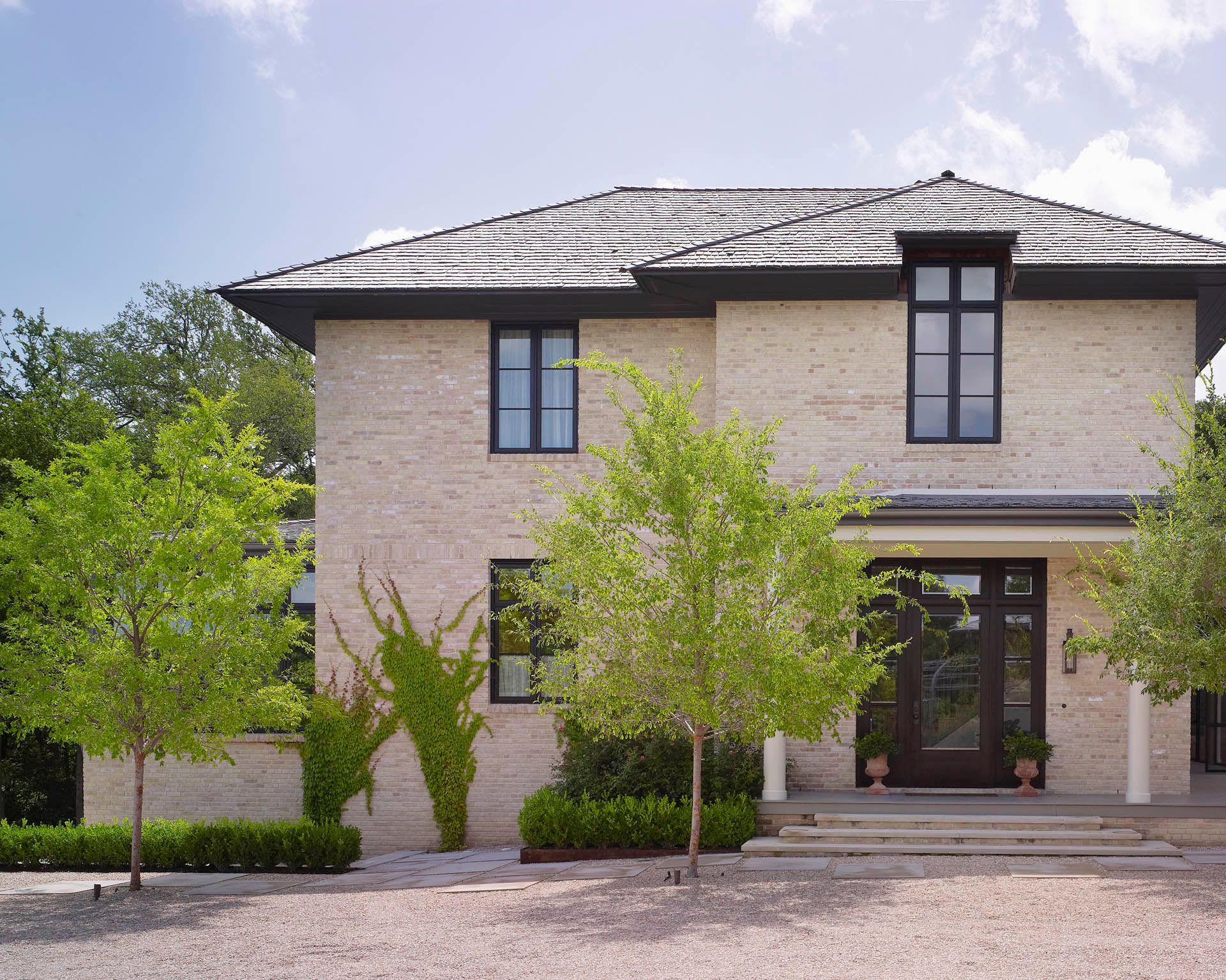 Modern Brick Architecture Austin TX