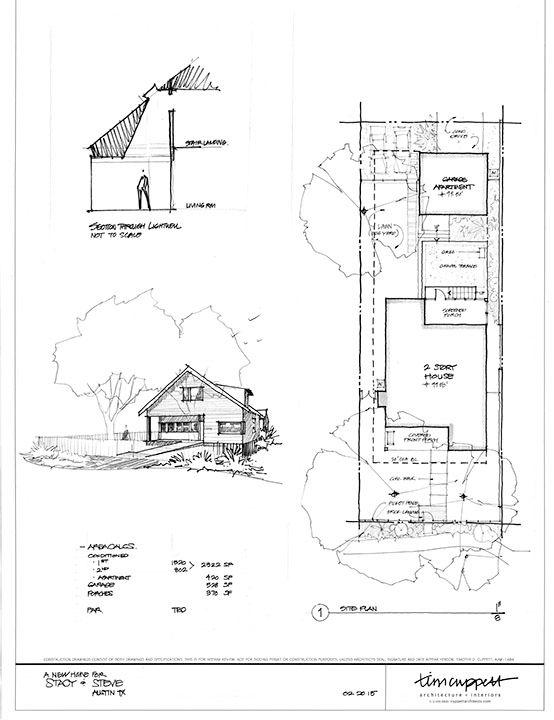 Austin, Texas Custom Home Floor Plans and Renderings