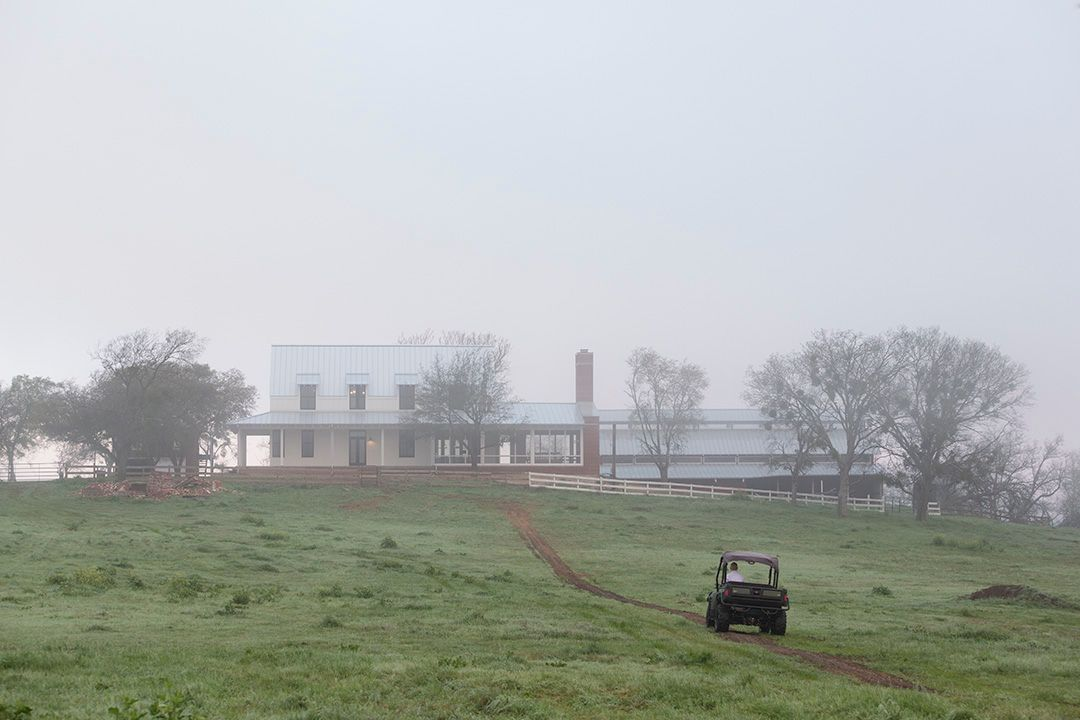Texas Farmhouse Architecture