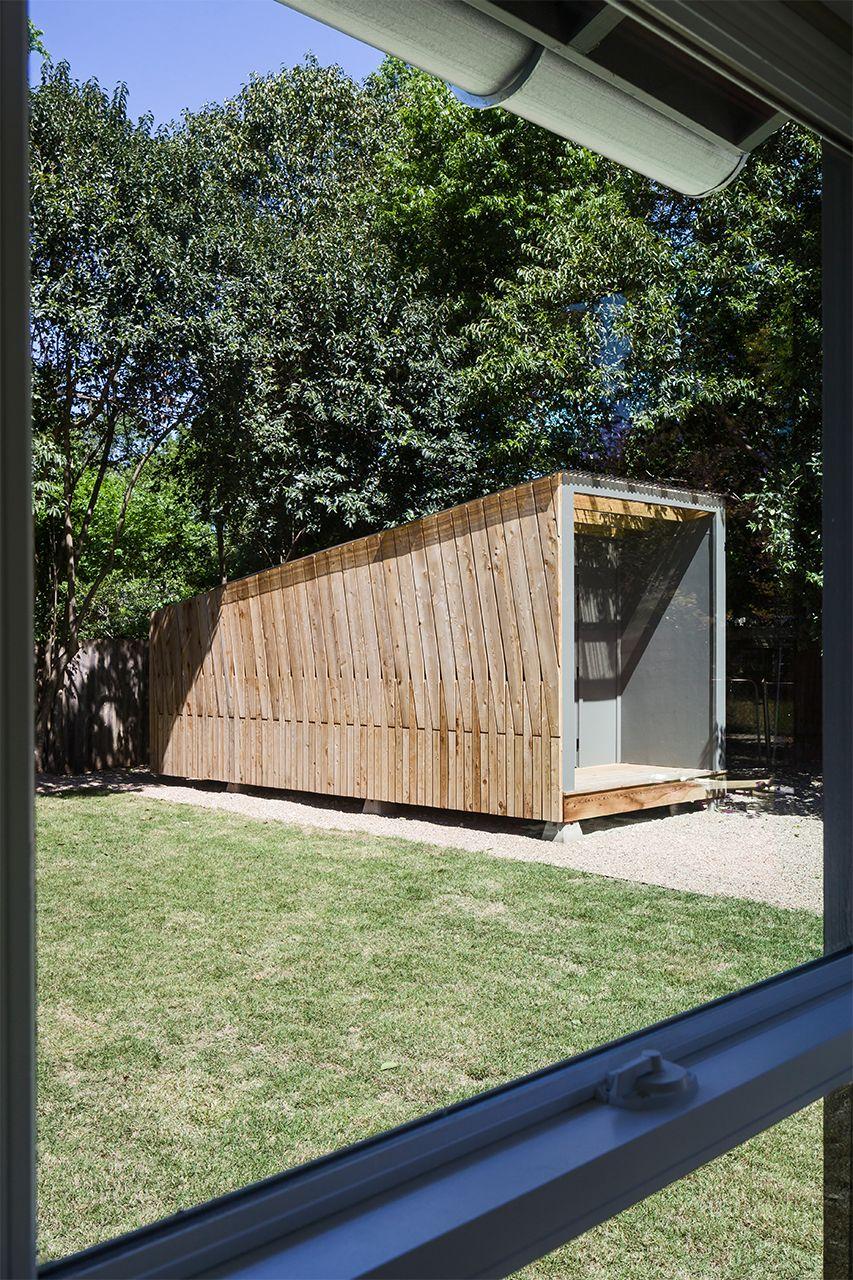 Modern Backyard Shed Design in Austin, TX