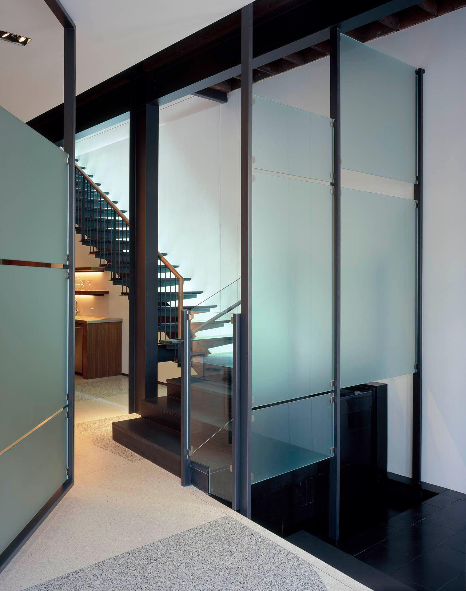 Modern Glass Interior Design Austin, TX