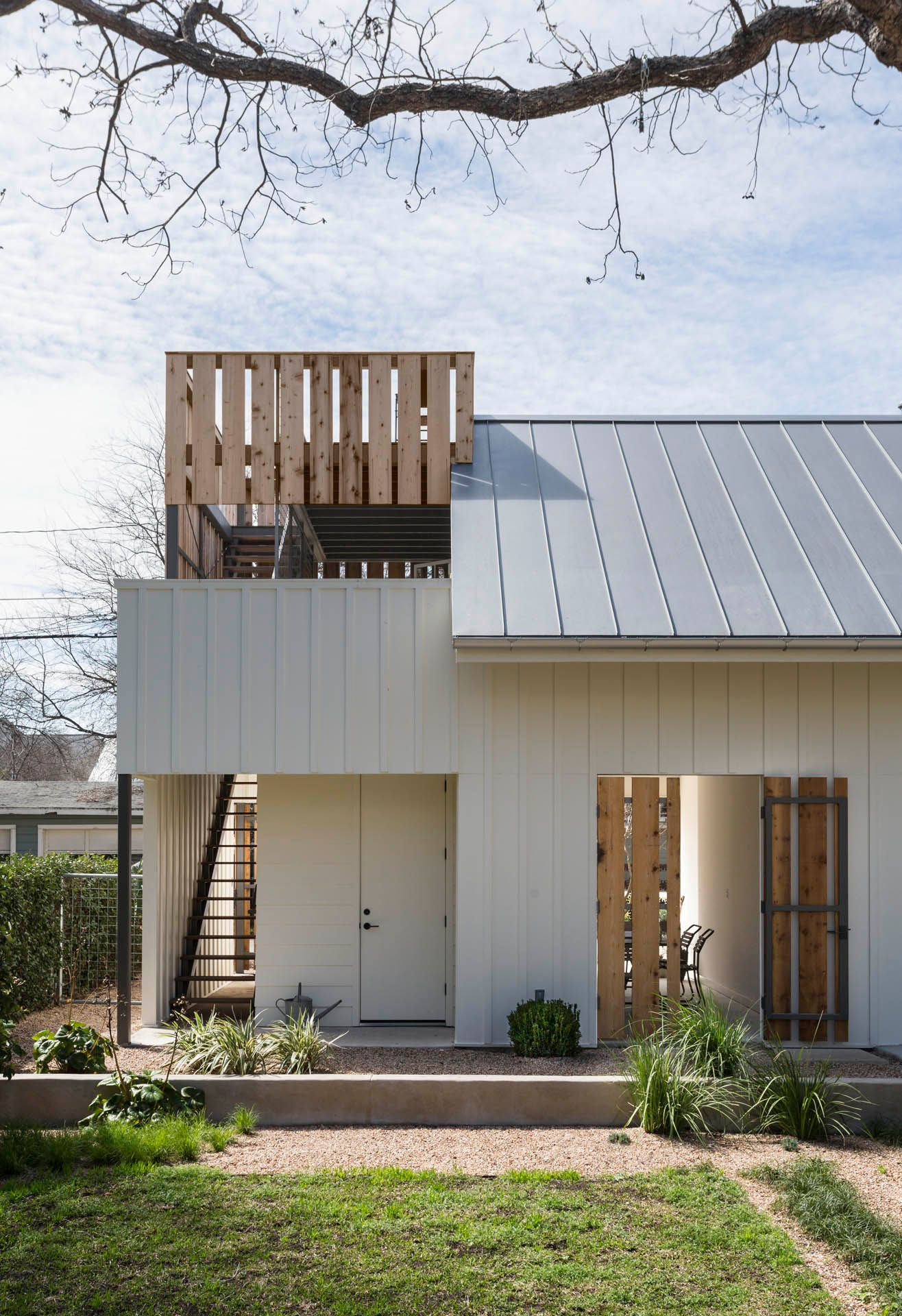 Austin TX Modern Garage Design