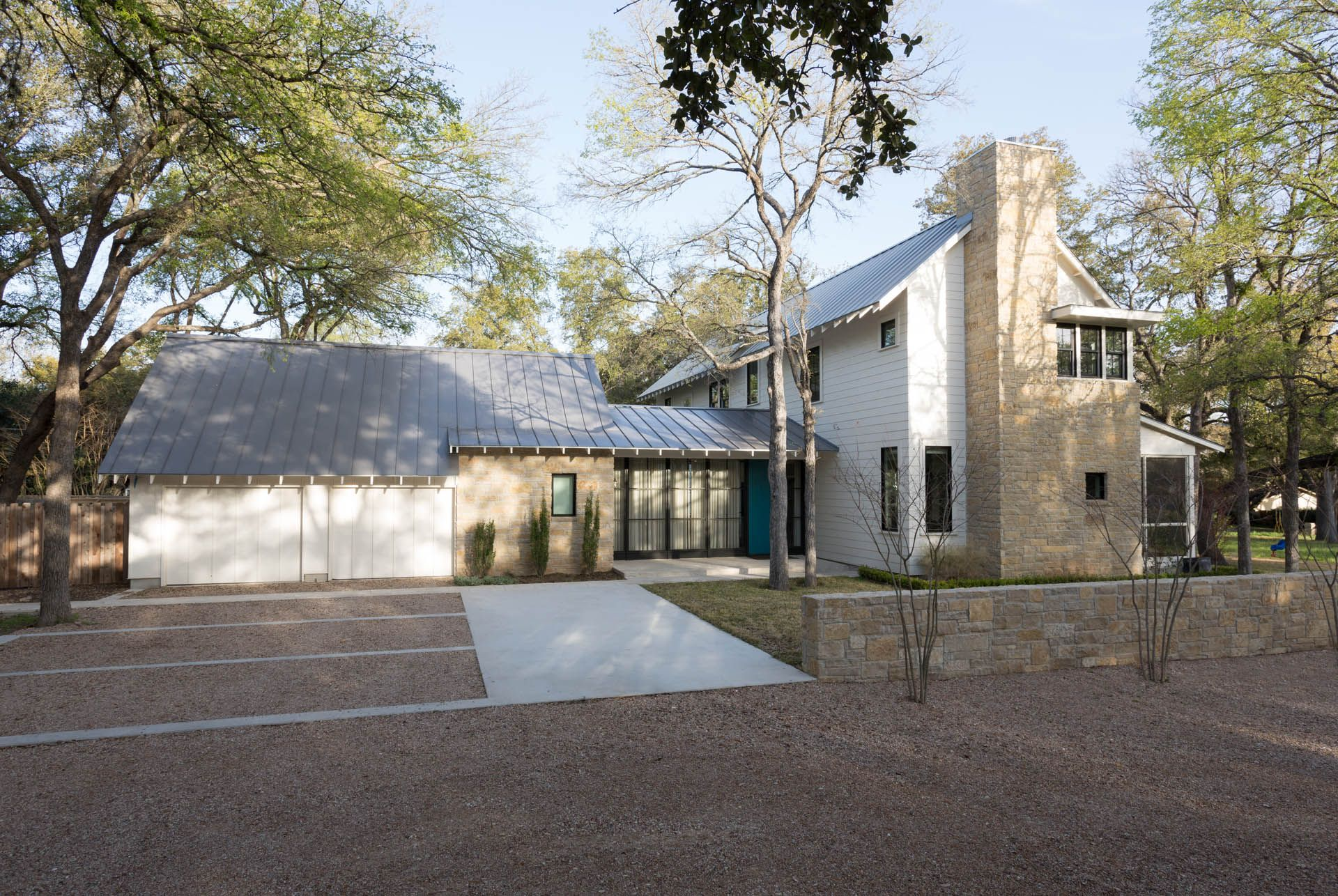 Austin, Texas Contemporary Farmhouse