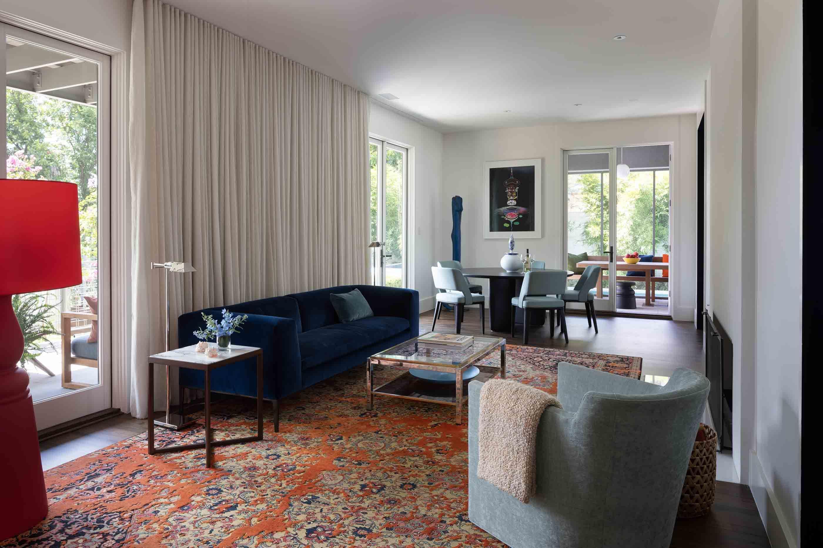 Mid Century Modern Interior Design in Austin, Texas.