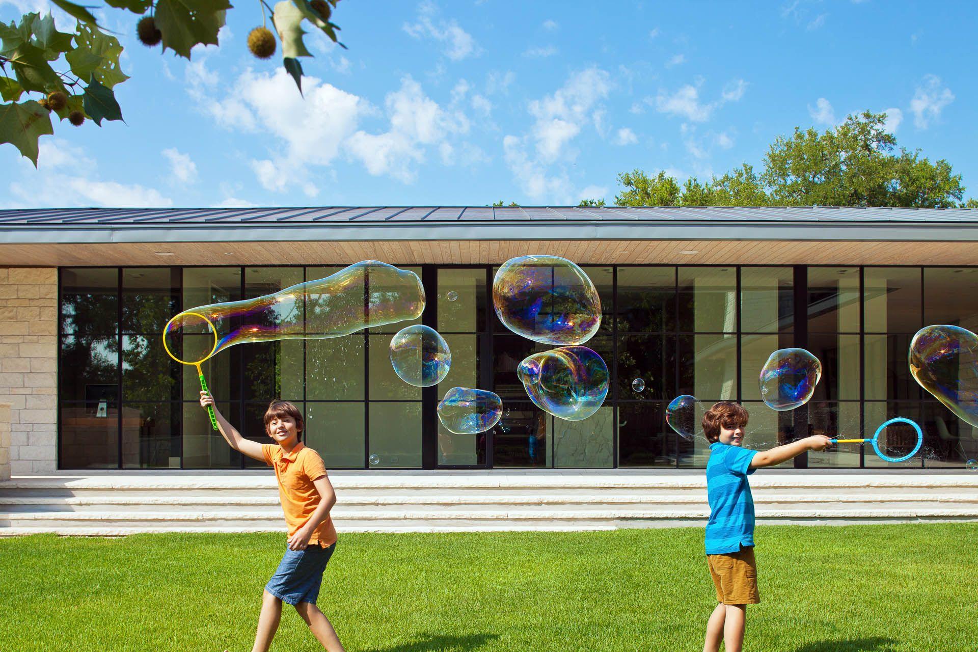 Modern Courtyard Home Design Austin TX