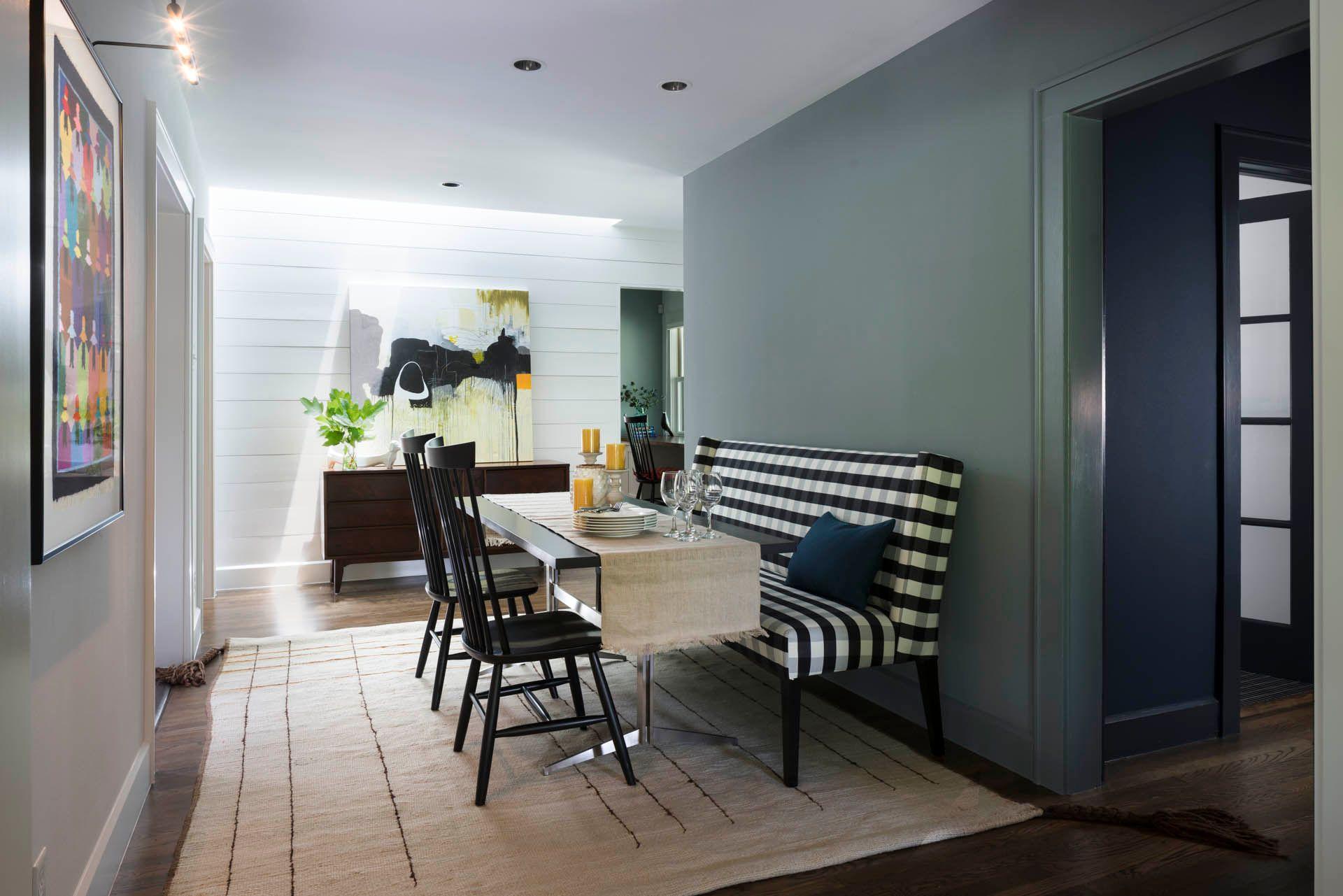 Modern Dining Room Design in Austin, Texas