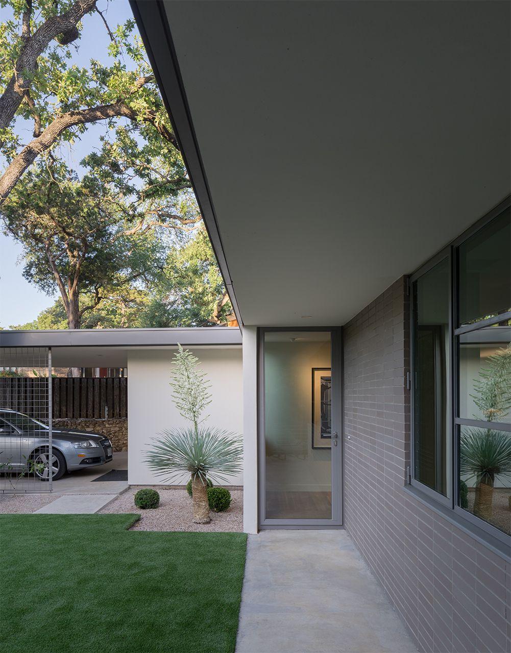 Austin, TX Mid Century Modern Architecture