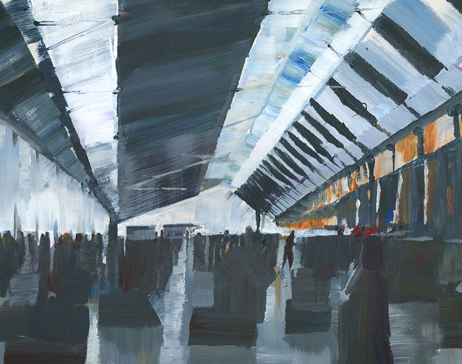 Tim Cuppett Architectural Painting