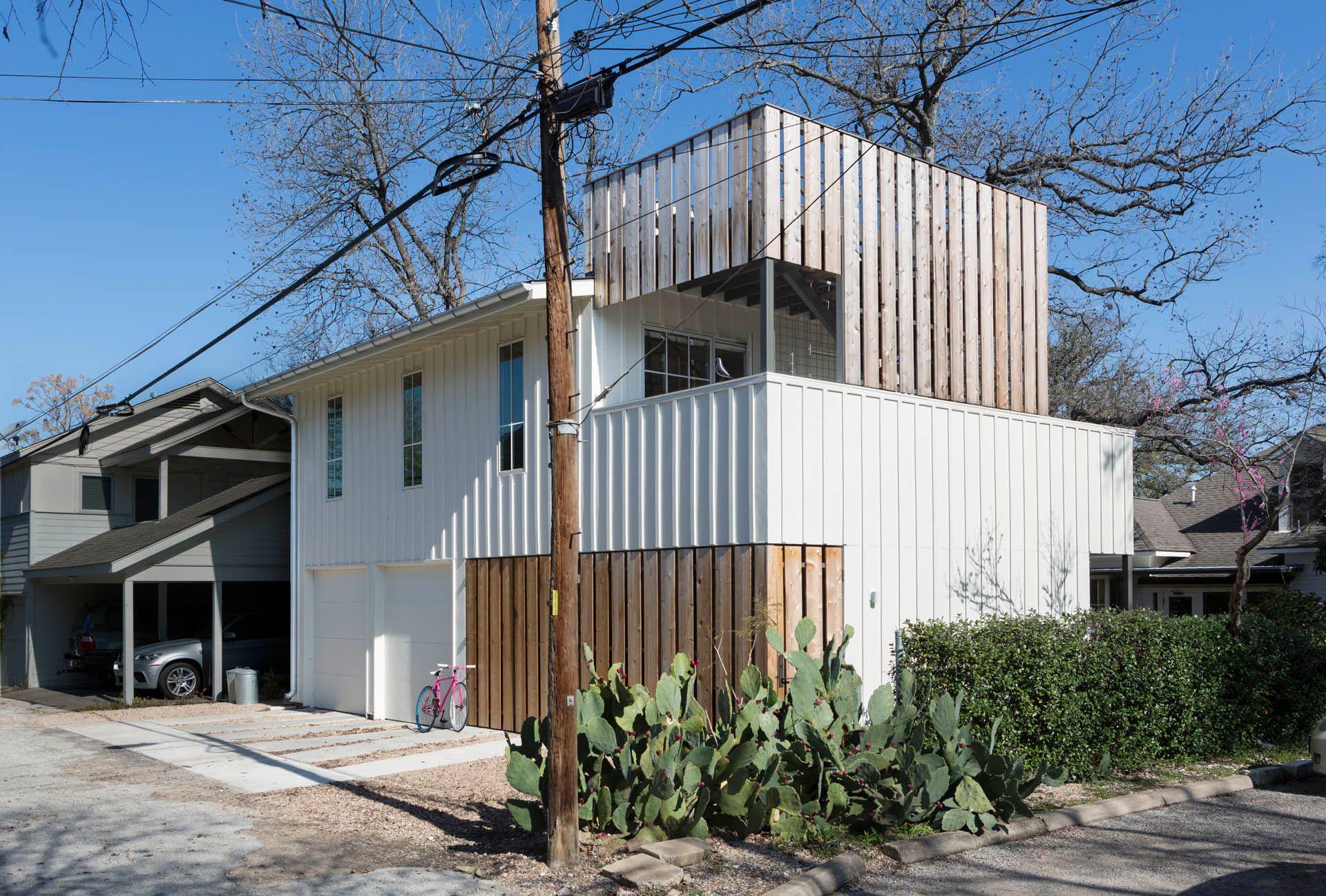 Austin, Texas Studio over Garage