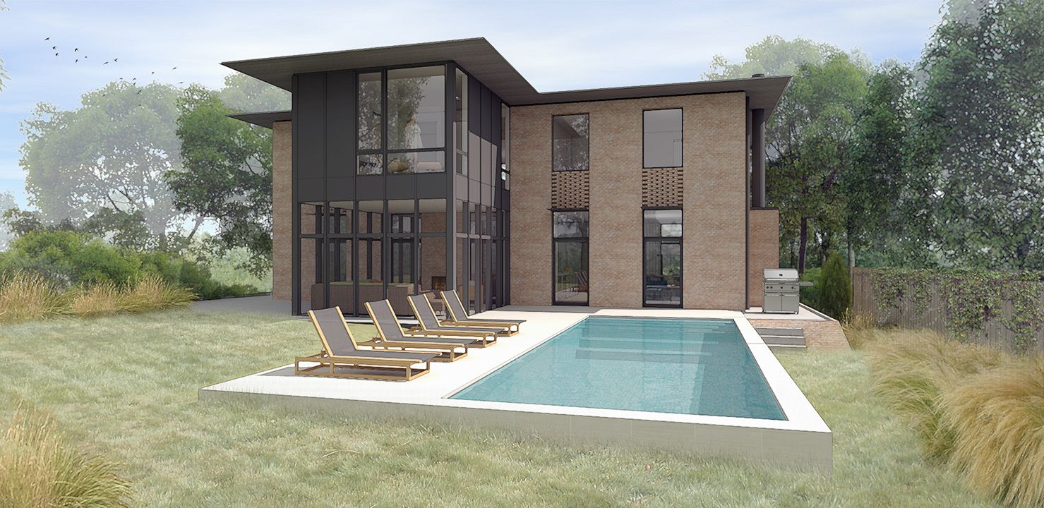 Austin Texas Architecture 3d Rendering & Modeling