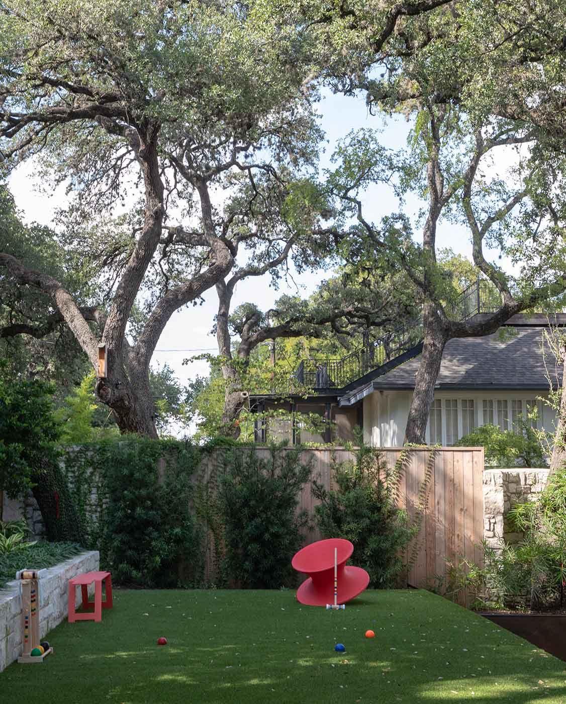 Courtyard Architect in Austin Texas