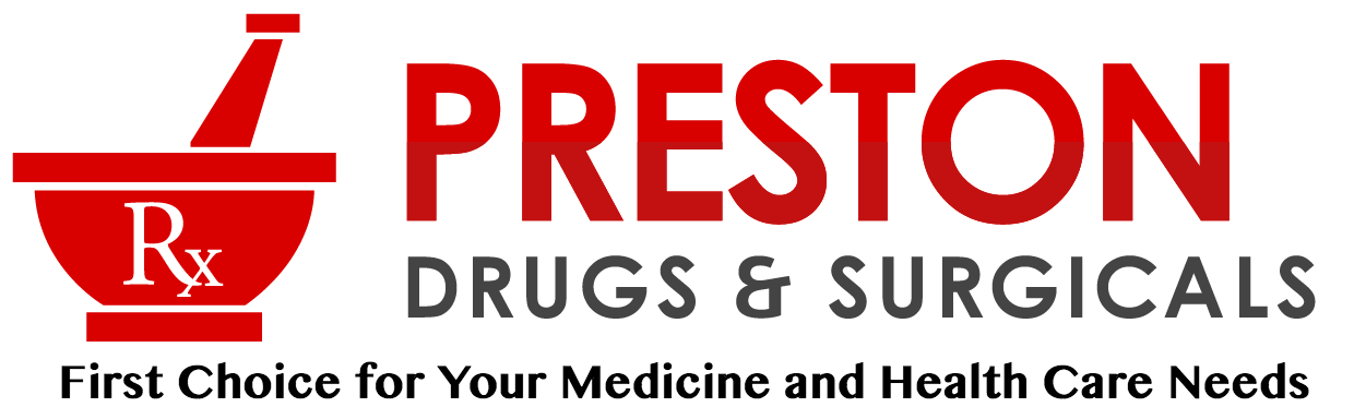 new - Preston Drugs & Surgicals