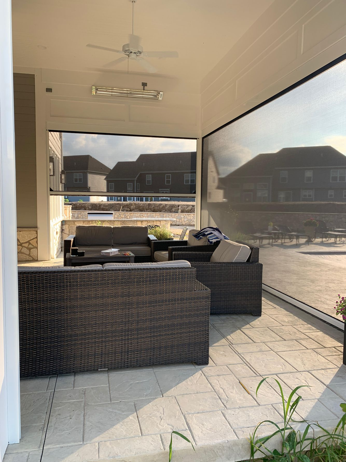 Privacy on your patio