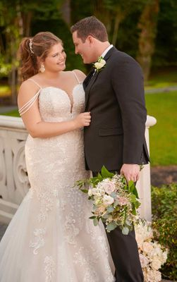 Plus Size Blue Bridal Boutique Of Austin