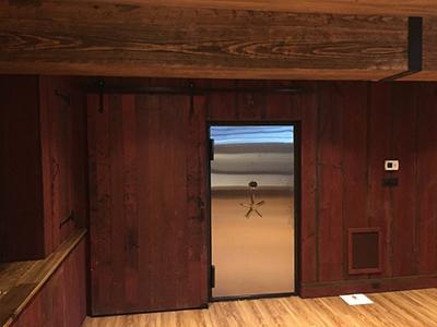 SS Door Concealed Vault Room