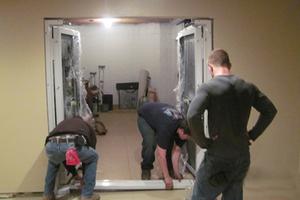Vault Door Installation Smith's Security Safe