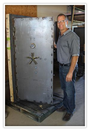 Custom and Stock Vault Door and Gun Safe Photo Gallery - Building