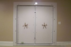 Double Vault Door Installation Smith's Security Safe