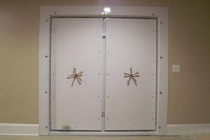 Double Vault Door Installation Smith's Security Safe