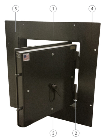 Escape Hatch  sc 1 st  Smith Security Safes & Custom and Stock Escape Hatches | Smith Security Safes - Building ...