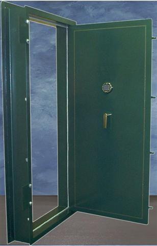 Vault Door inside swing