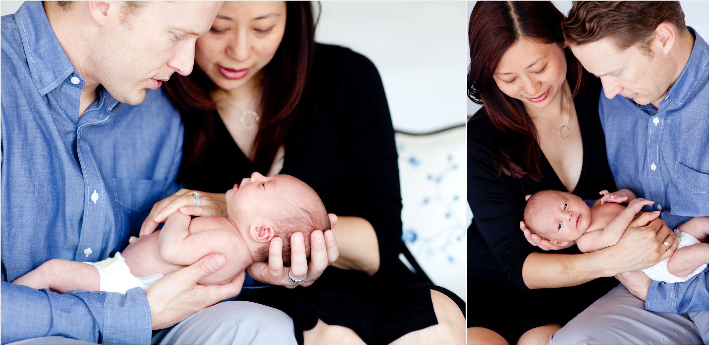 Couple-in-awe-of-new-baby-boy-at-Denver-Studio-Photoshoot-0002