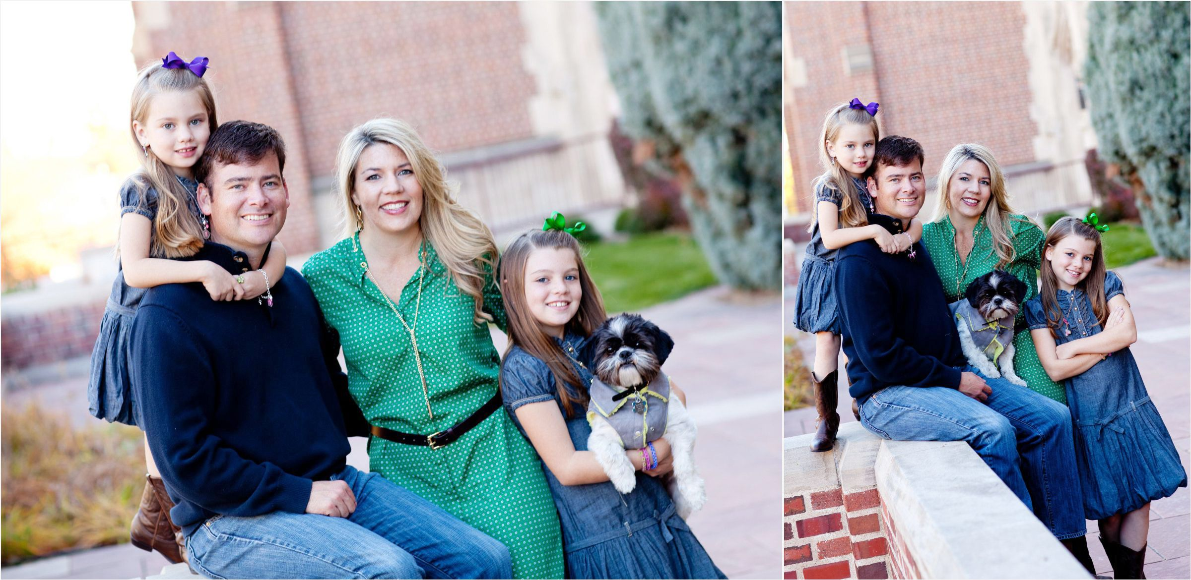 Denver-family-classic-portrait-session-at-university-with-dog-001