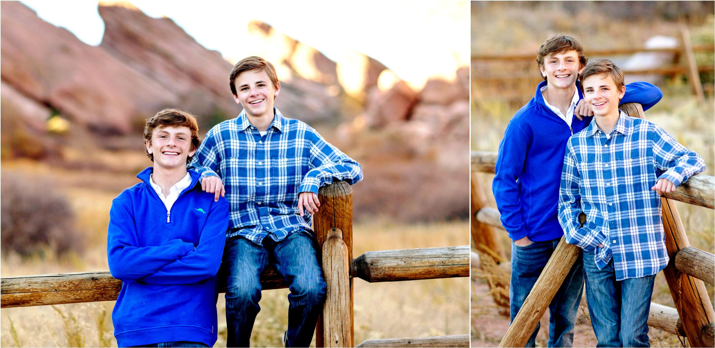 brothers-use-a-fence-to-model-at-red-rocks-photo-shoot-002