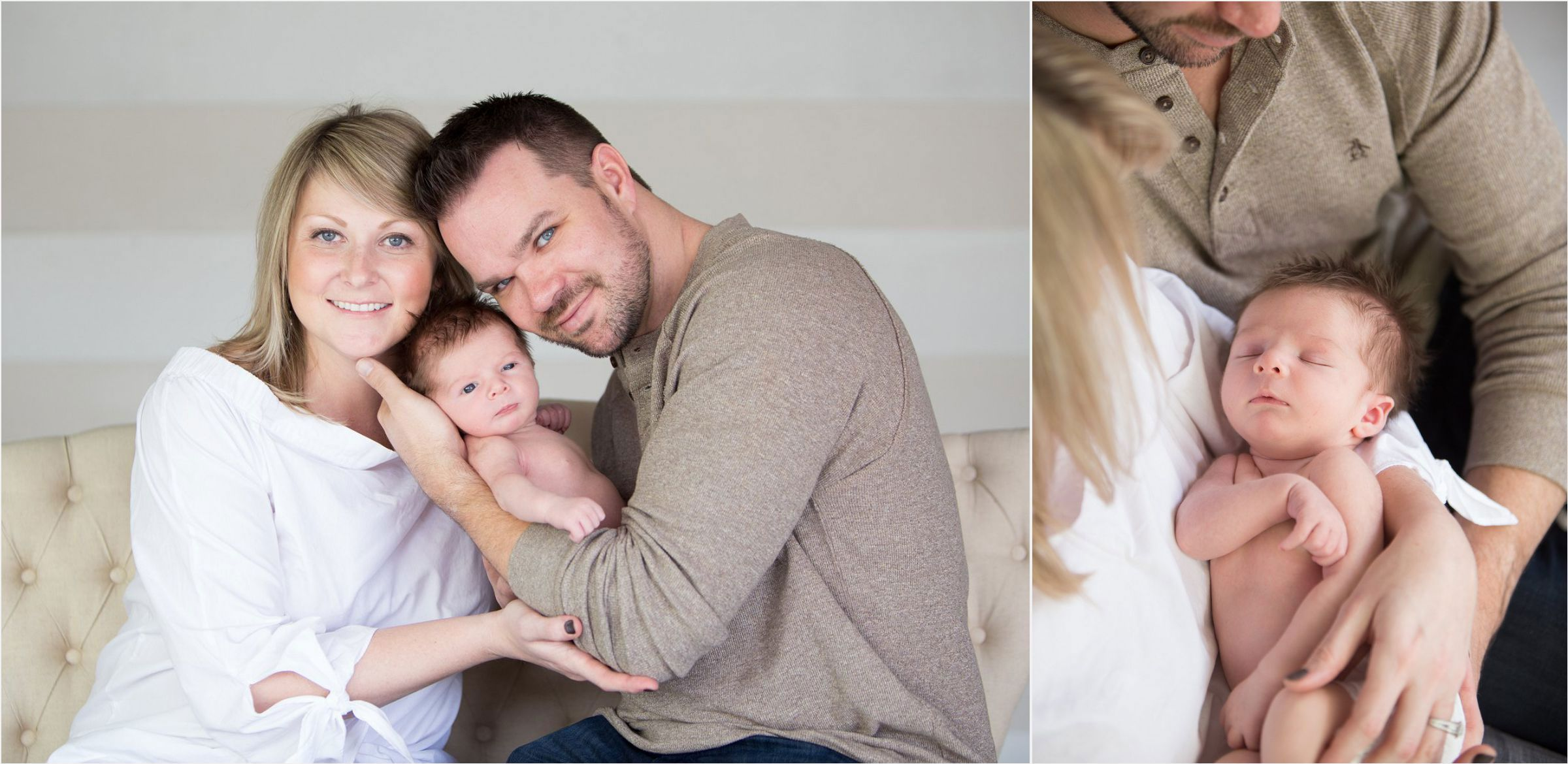 A-new-family-cuddles-together-for-their-newborn-photoshoot-at-Denver-photography-studio-0002
