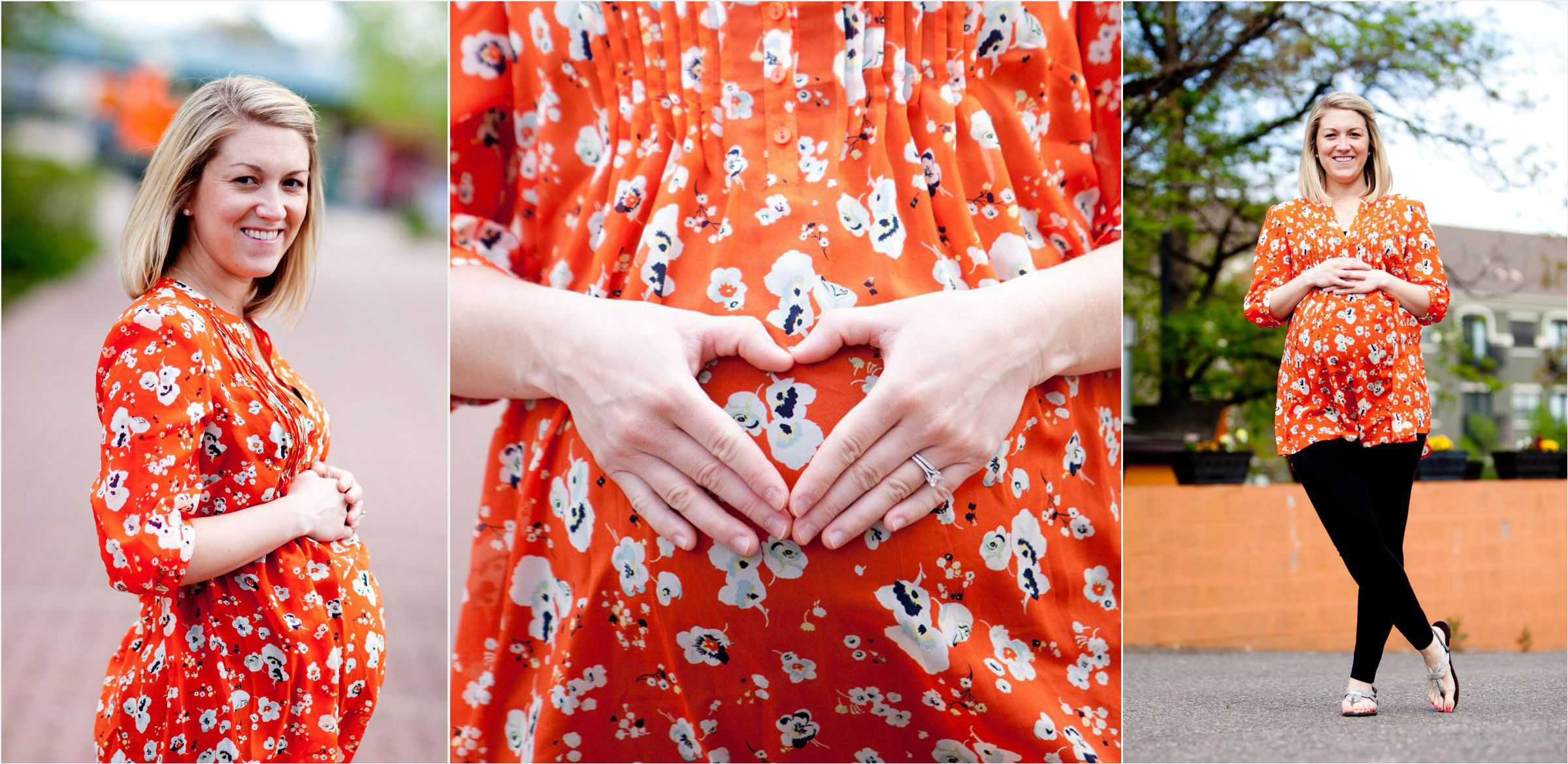 Glowing-mother-to-be-making-a-hear-shape-on-her-baby-bump-005