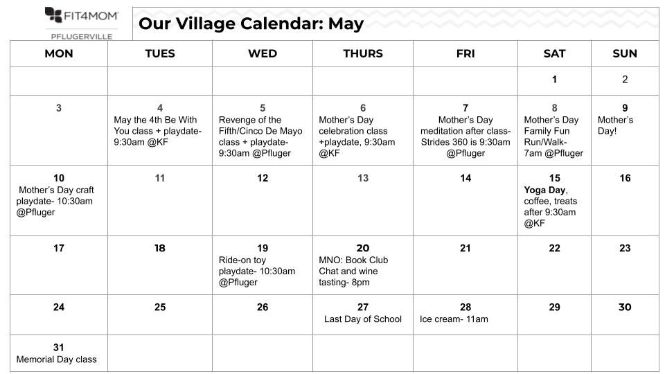 F4M Pflugerville class and Our Village schedules.jpg