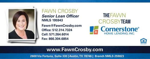 Fawn Crosby, Cornerstone Home Lending