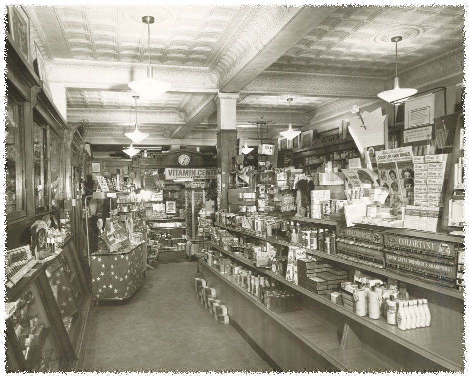 Interior with Tin Ceiling