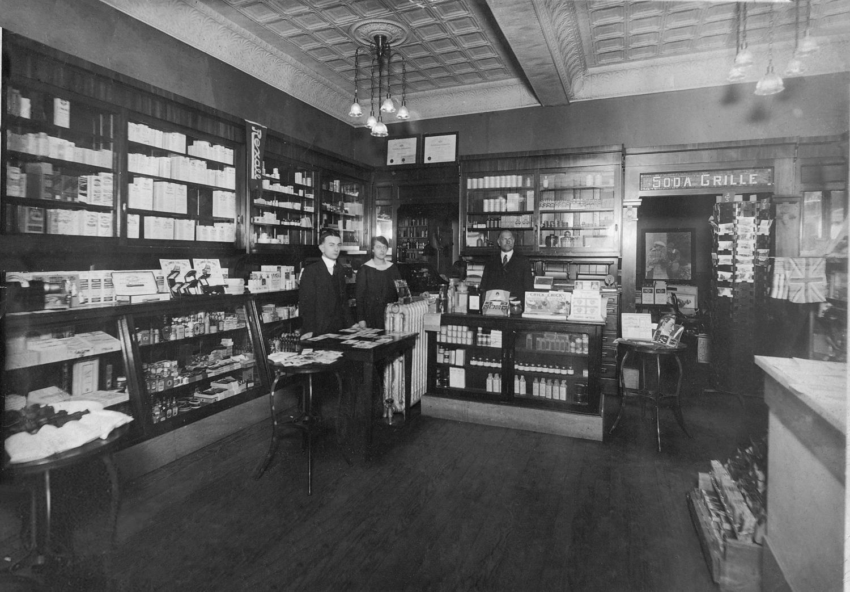 Inside Stauffer's Drug Store