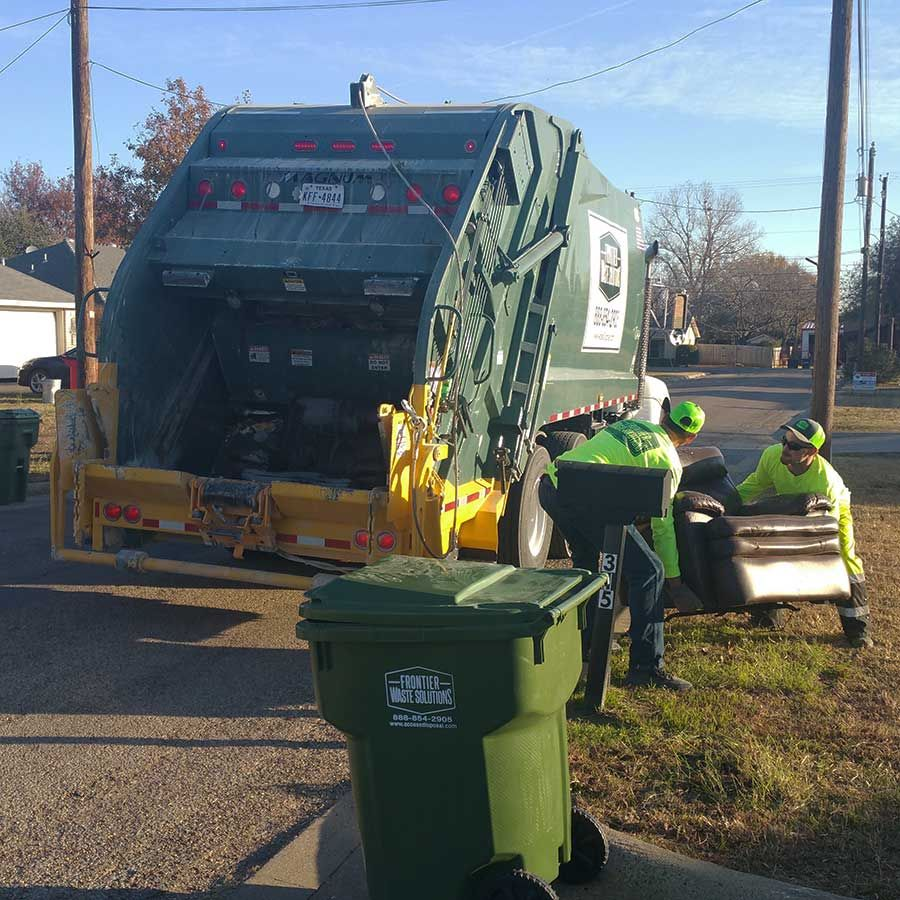 Residential Services | Frontier Waste Solutions - Frontier