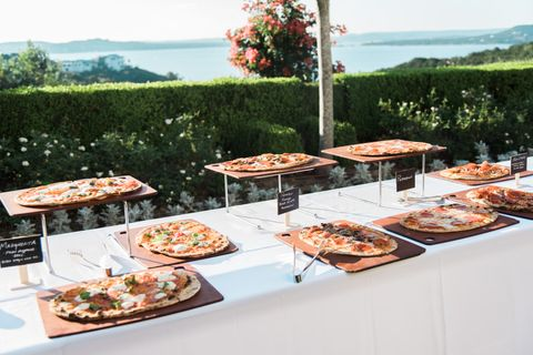 Mandola's Pizza Wedding Catering in Austin